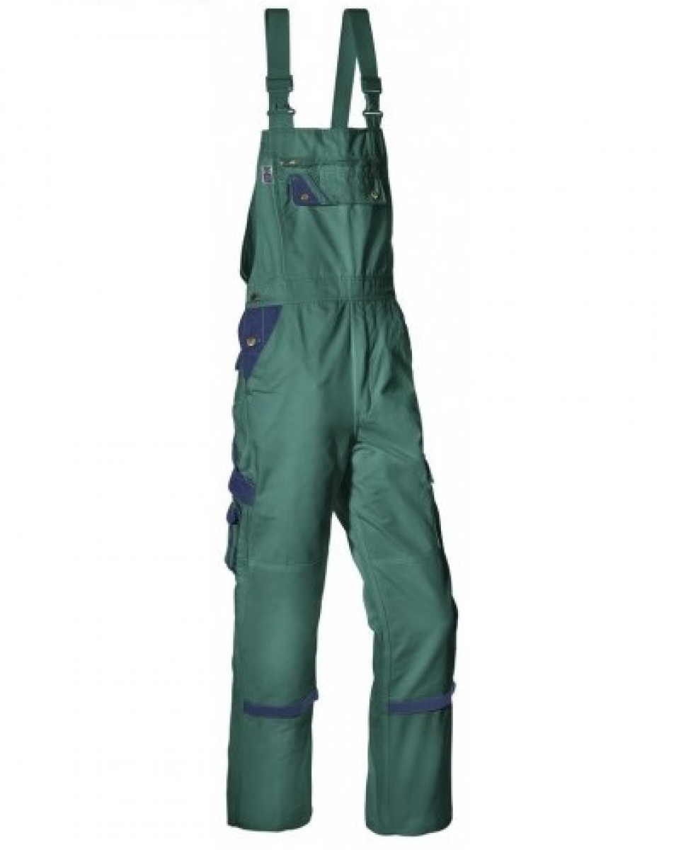 PKA Arbeits-Berufs-Latz-Hose Threeline Perfekt, MG320, grün