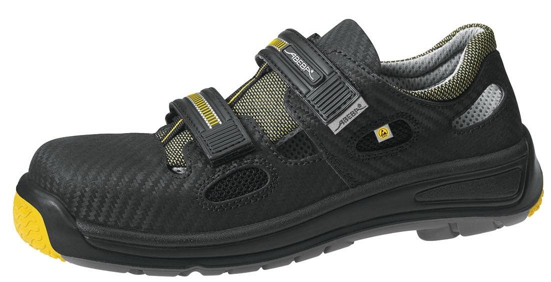 abeba s1 damen u herren sicherheits arbeits berufs sandalen schwarz. Black Bedroom Furniture Sets. Home Design Ideas