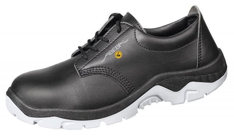 ABEBA Anatom S3 Damen u. Herren Sicherheits Arbeits Berufs Schuhe, Halbschuhe, ESD, schwarz