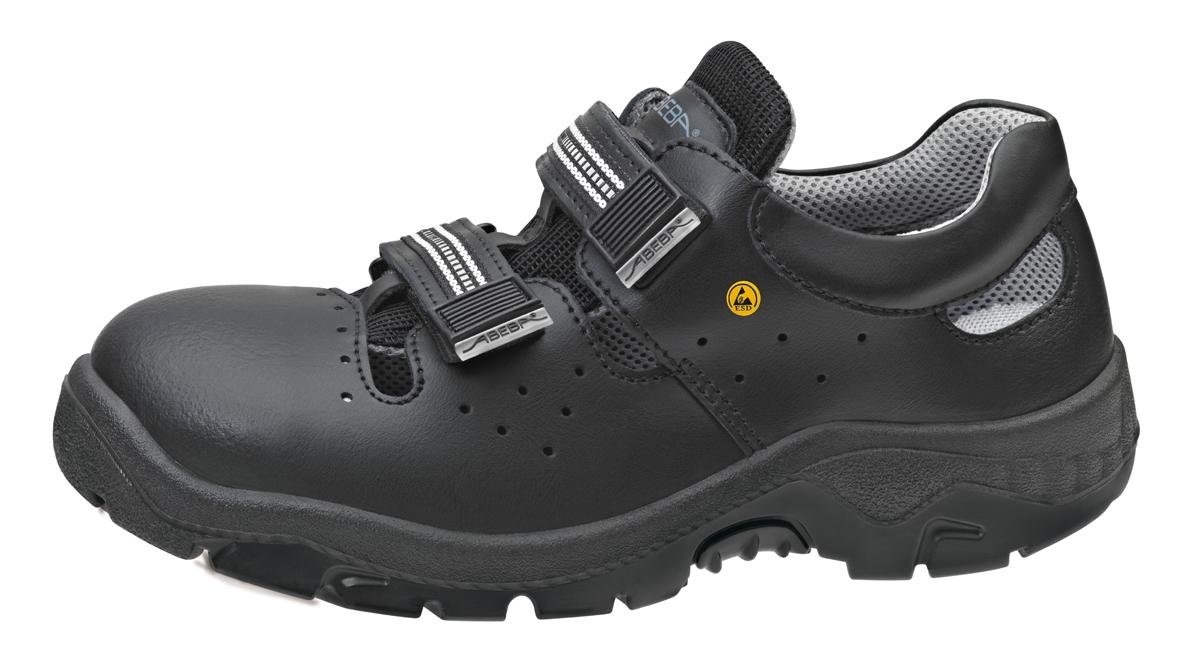 separation shoes 27194 9f10a ABEBA-Anatom-S1-Damen- u. Herren-Sicherheits-Arbeits-Berufs-Sandalen, ESD,  schwarz