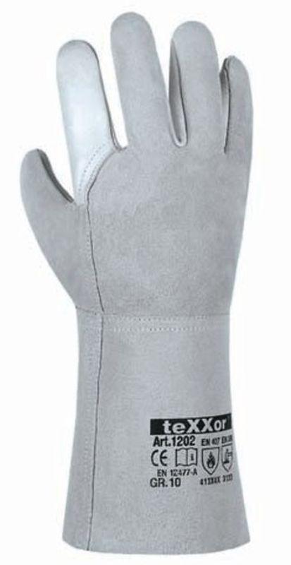 BIG-TEXXOR-Schweißer-Arbeits-Handschuhe, Batu Tara, natur