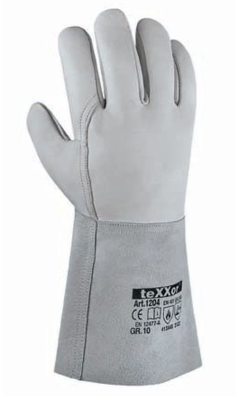BIG-TEXXOR-Schweißer-Arbeits-Handschuhe, Taupo, natur