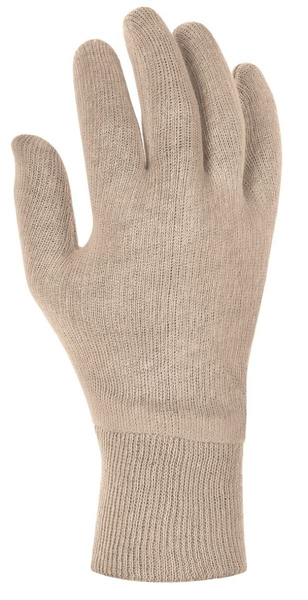 BIG-Baumwoll-Trikot--Arbeits-Handschuhe, rohweiß