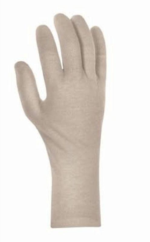 BIG TEXXOR Arbeitshandschuhe, Baumwoll-Trikot-Handschuhe, 30 cm lang, schwer, rohweiß