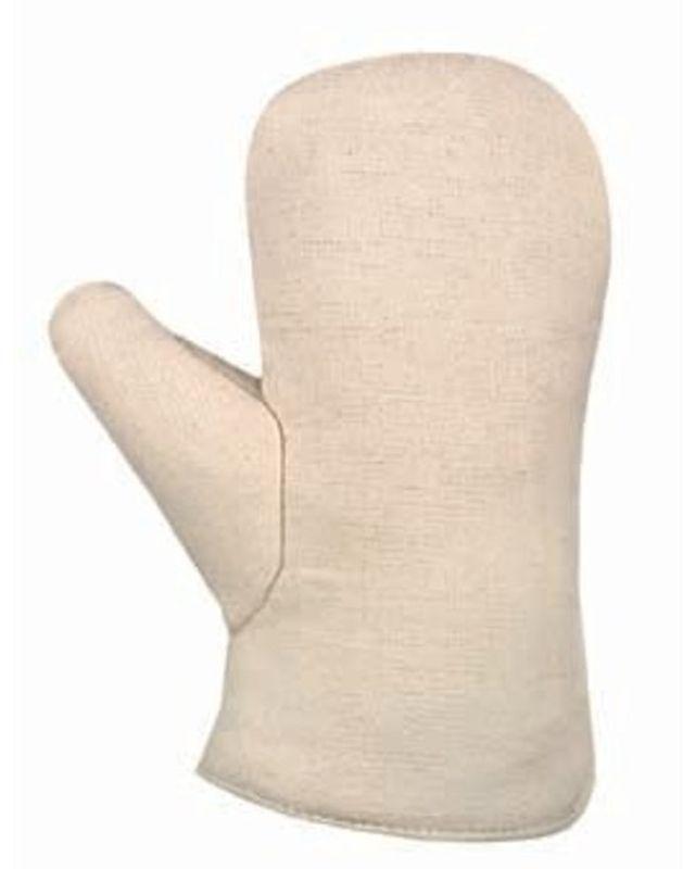BIG-Baumwoll-Segeltuch-Fauster, Arbeits-Handschuhe, rohweiß