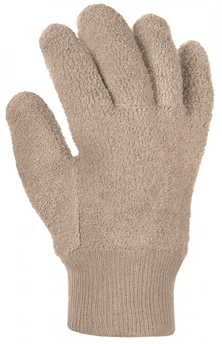 BIG-Baumwoll-Schlingen-Arbeits-Handschuhe, rohweiß