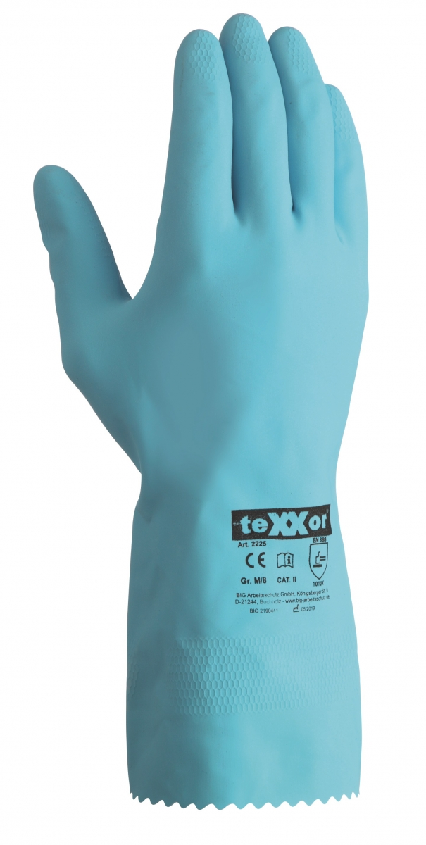 BIG-TEXXOR-Haushalts-Arbeits-Handschuhe, blau