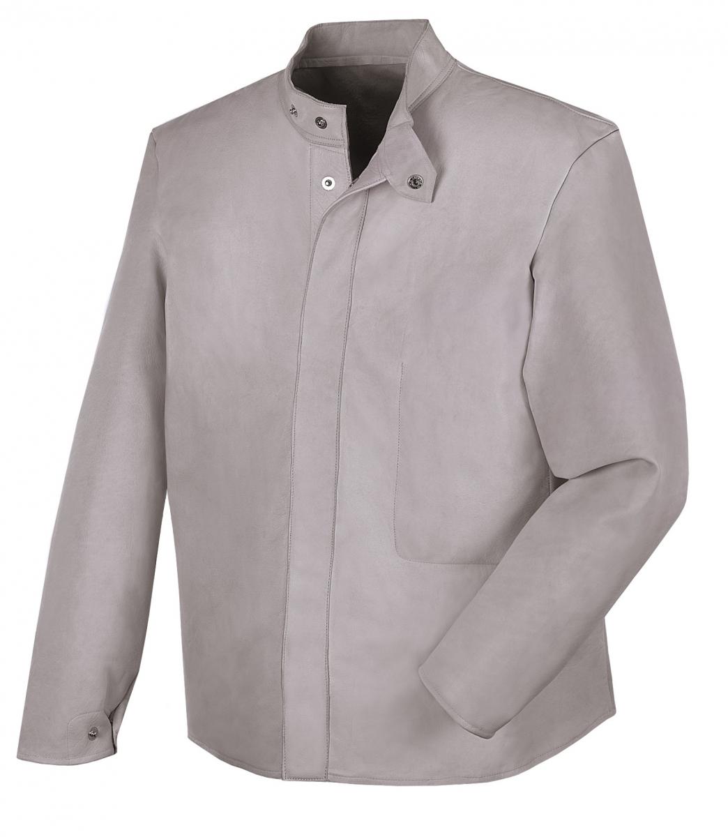 BIG-Schweißer-Arbeits-Schutz-Berufs-Jacke, grau