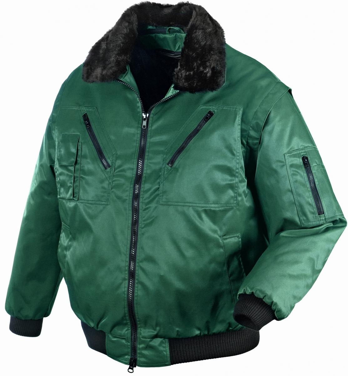 BIG-TEXXOR-Kälte-Schutz, Winter-Arbeits-Berufs-Piloten-Jacke, Oslo, grün