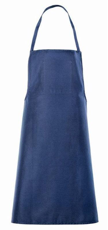BIG-Baumwoll-Tuchschürze, Arbeits-Berufs-Schürze,blau