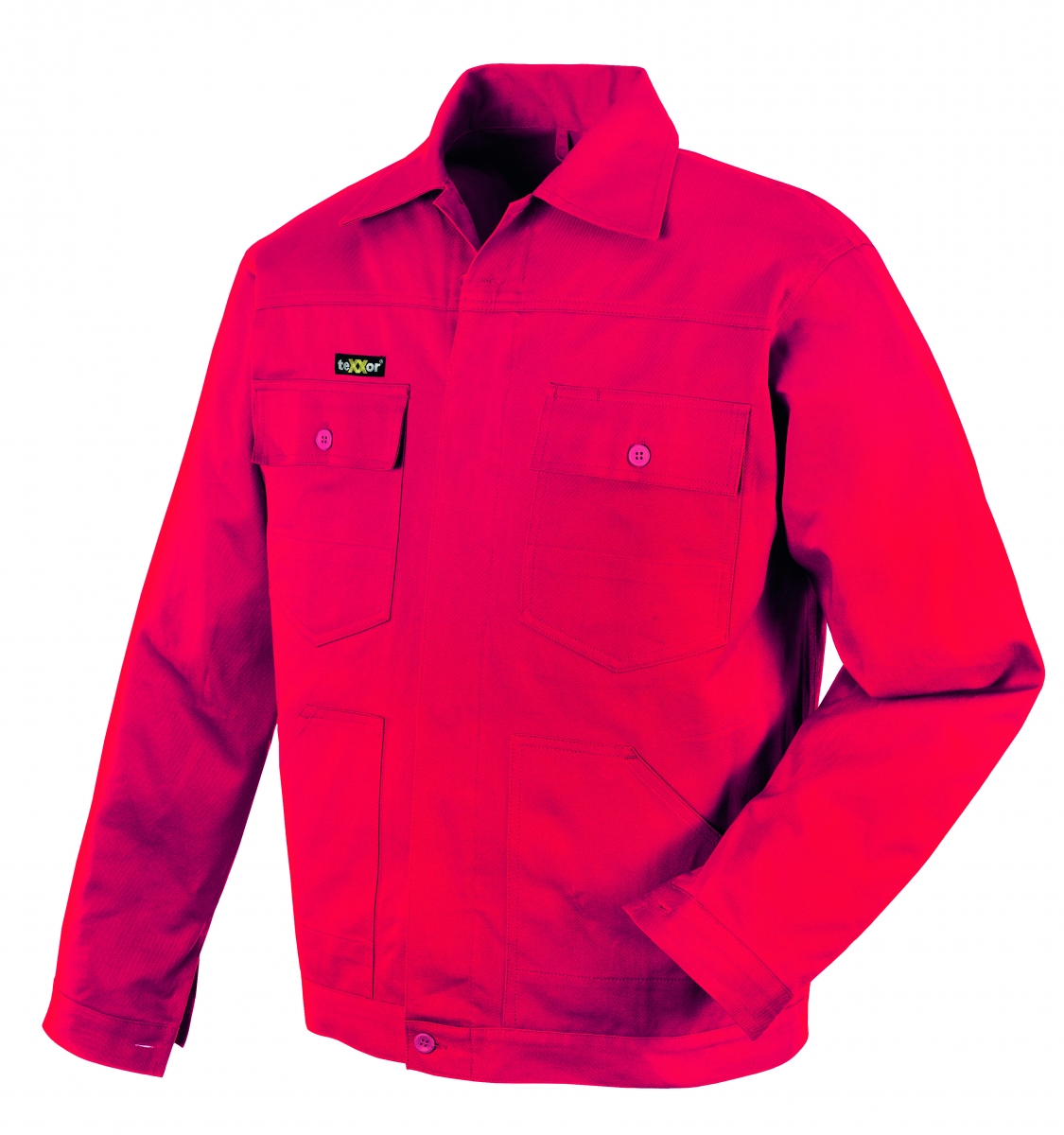 BIG-TEXXOR-Arbeits-Berufs-Bund-Jacke, 290g/m², rot