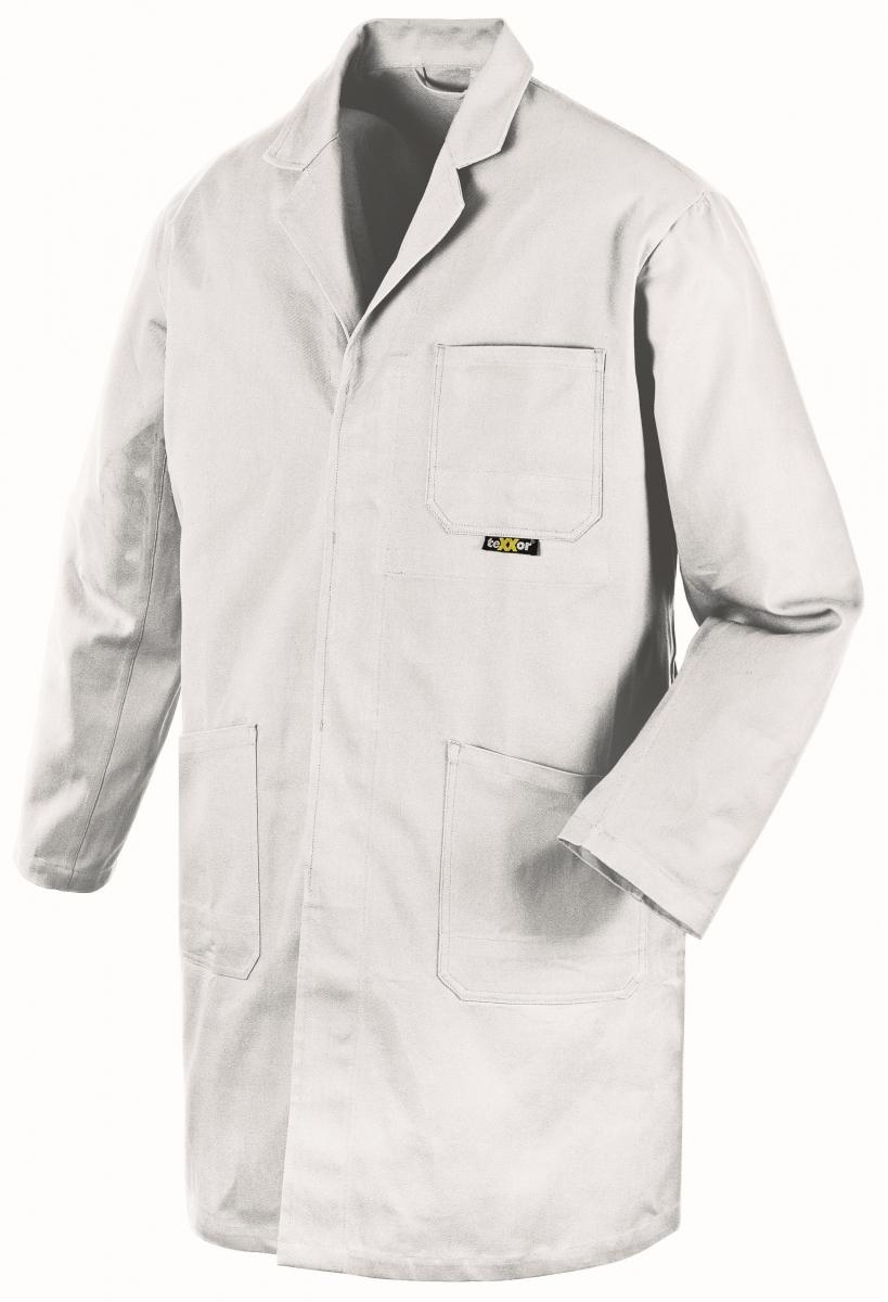 BIG-TEXXOR-Berufs-Mantel, Arbeits-Kittel, 290g/m², weiß