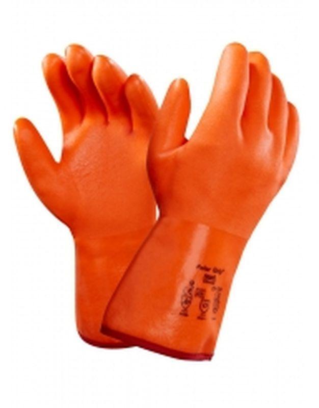 ANSELL-Chemikalien-Schutz-Spezialzweck-Arbeits-Handschuhe, Winter Polar Grip, Si