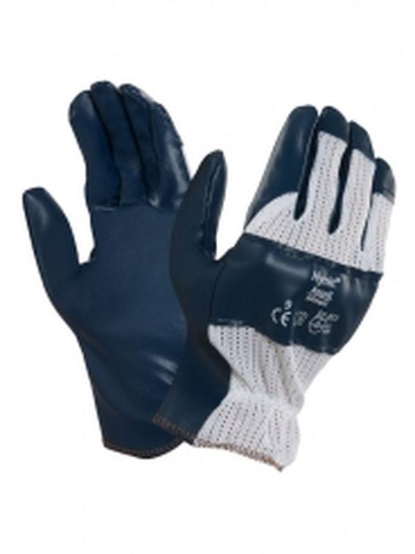 ANSELL-Nitril-Mehrzweck-Arbeits-Handschuhe, Hynit, Blau