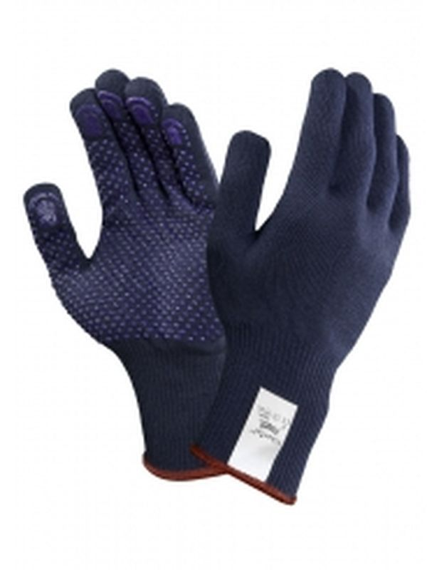 ANSELL-Strick-Arbeits-Handschuhe, Fiber Tuf, 76-501, Dunkelblau