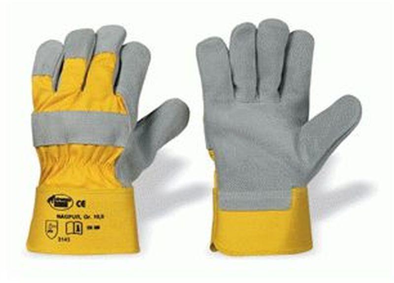 F-STRONGHAND, Leder-Arbeits-Handschuhe, HK/TOP