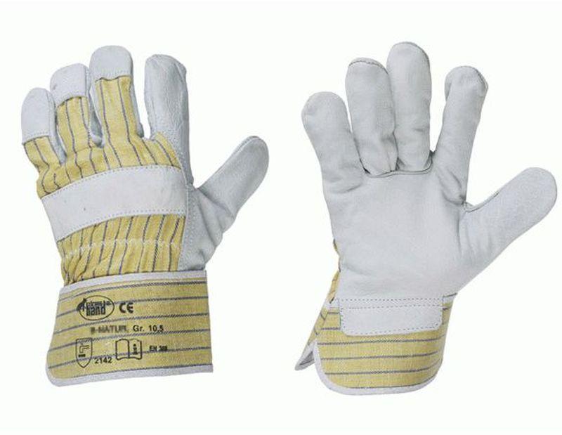 F-STRONGHAND, Rind-Leder-Arbeits-Handschuhe, BOMBAY