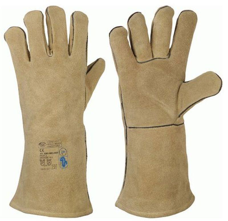 F-STRONGHAND, Schweißer, Rindspaltleder,-Arbeits-Handschuhe, *WELDER-PROFI 2*, VE: 60 Paar
