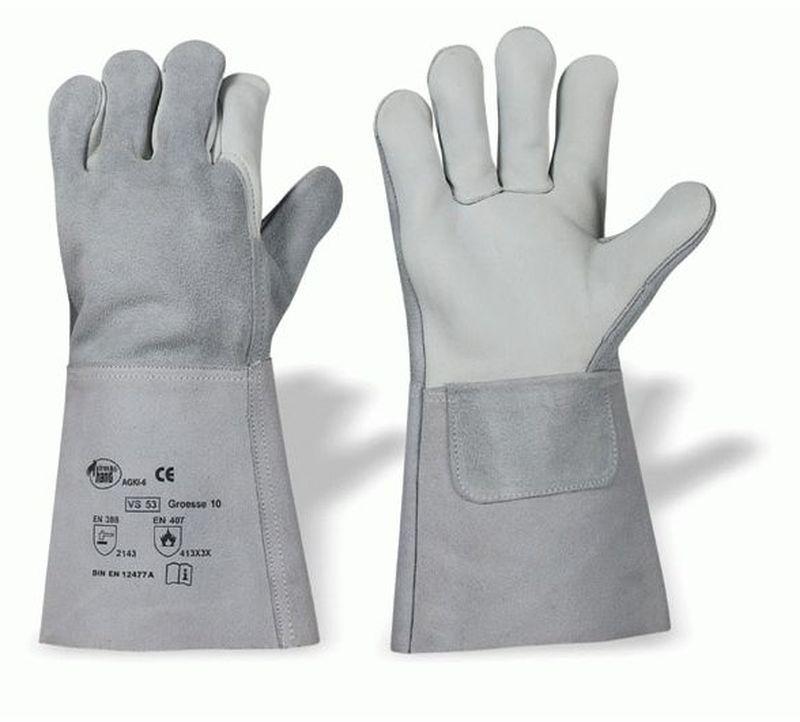 F-STRONGHAND, Schweißer, Rindleder,-Arbeits-Handschuhe, *CLASSIC VS 53*, VE: 60 Paar