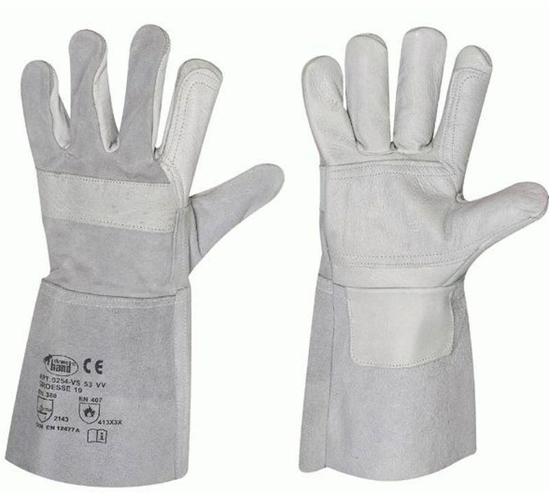F-STRONGHAND, Schweißer, Rindleder,-Arbeits-Handschuhe, *VS 53 VV*, VE: 60 Paar