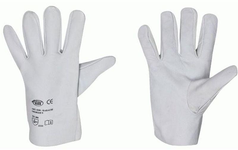 F-STRONGHAND, Nappa-Leder-Arbeits-Handschuhe, KARACHI