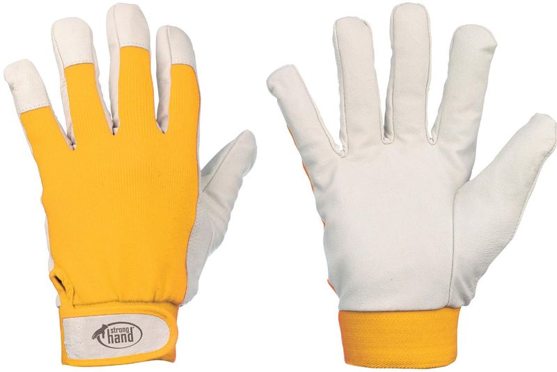 F-STRONGHAND, Nappaleder-Arbeits-Handschuhe, KHANPUR
