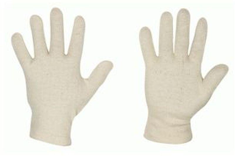 F-STRONGHAND-Trikot-Arbeits-Handschuhe, PASSAT, rohweiß