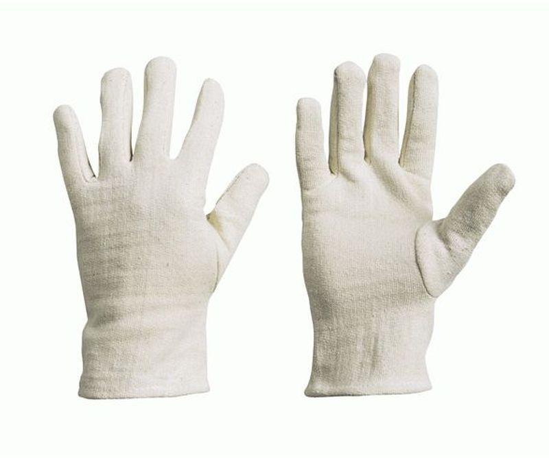 F-STRONGHAND-Baumwoll-Arbeits-Handschuhe, URUMCHI, rohweiß