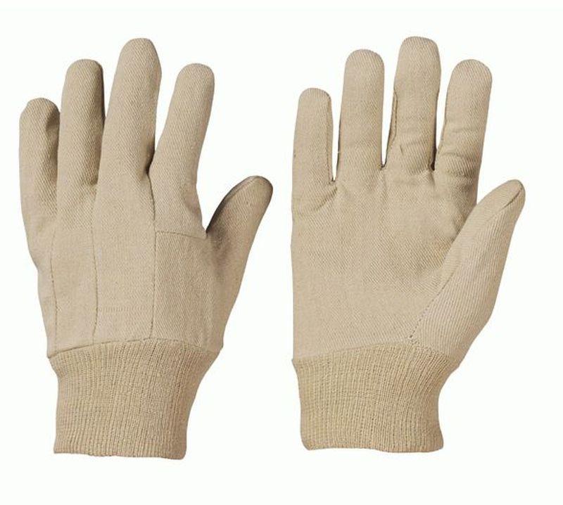 F-STRONGHAND-Baumwoll-Arbeits-Handschuhe, WUCHOW, rohweiß