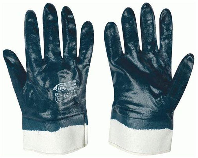 F-STRONGHAND-Nitril-Arbeits-Handschuhe, FULLSTAR, blau