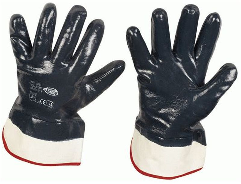 f stronghand nitril arbeits handschuhe vollstar schwarz. Black Bedroom Furniture Sets. Home Design Ideas