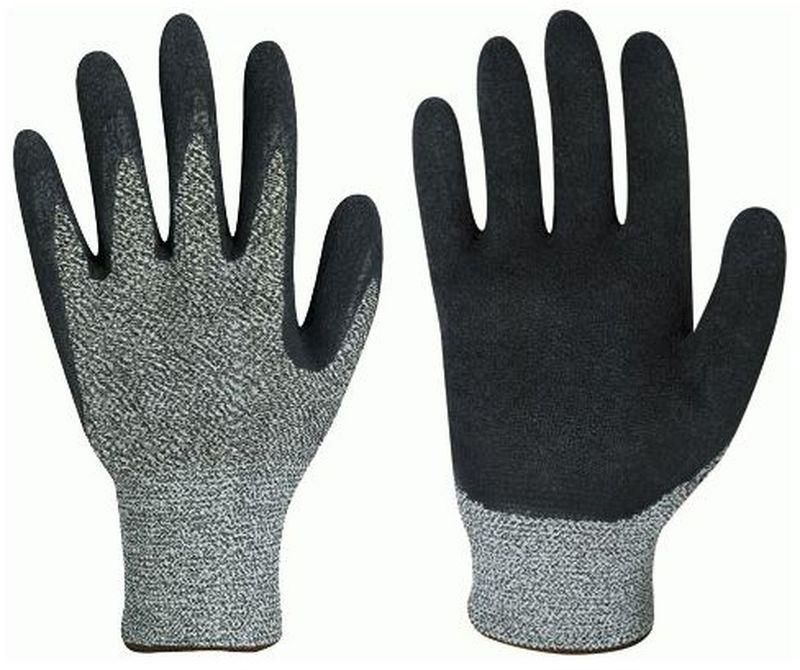 F-Schnittschutz-Arbeits-Handschuhe, DAYTON, grau meliert