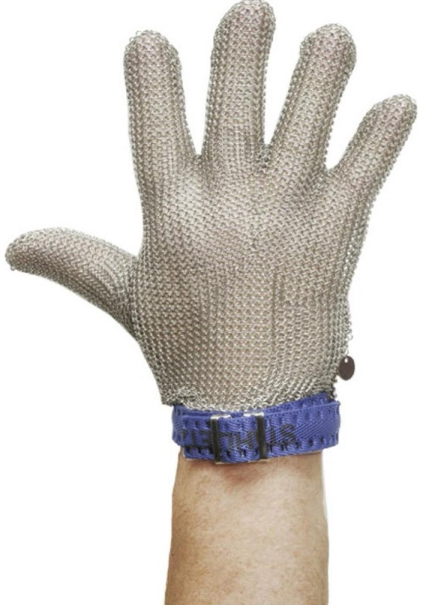 F-STRONGHAND, Stechschutz-Arbeits-Handschuhe, 5-Finger links