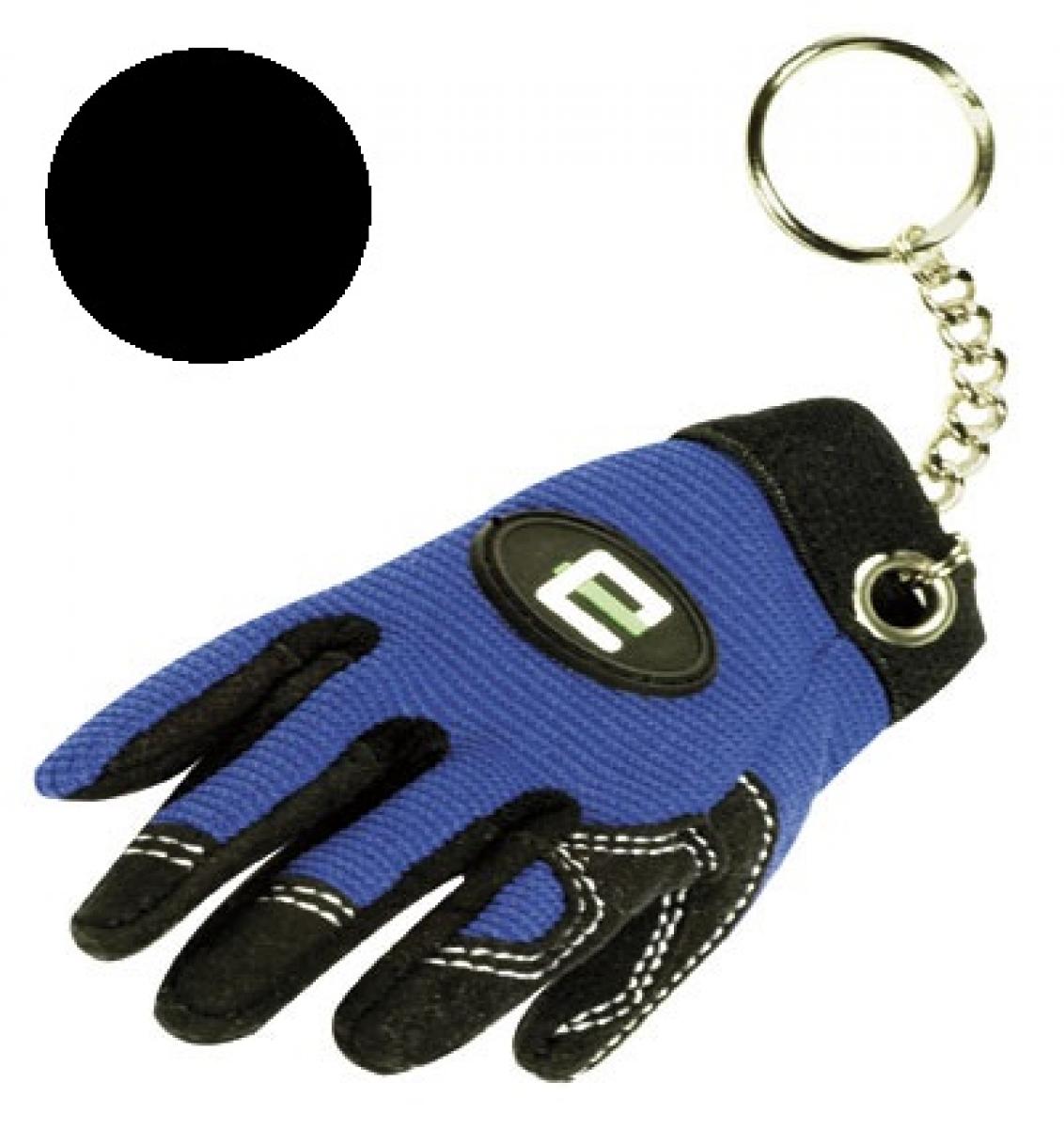 F-Feldtmann-Schlüsselanhänger, VE: 100 Stück, schwarz