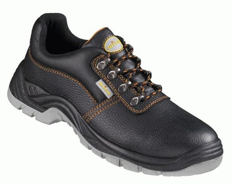 F-WICA-Sicherheits-Arbeits-Berufs-Schuhe, Halbschuhe O1, *ENNA*, schwarz/orange abgesetzt
