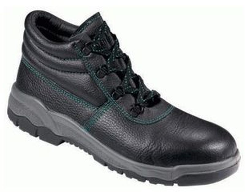 new concept a13ce 78b26 F-S3BASIC-LINE-Sicherheits-Arbeits-Berufs-Schuhe, Schnürstiefel, hoch  *WISMAR* schwarz