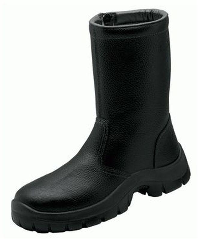 F-S3-WICA-Winter-Sicherheits-Arbeits-Berufs-Schuhe, Schaftstiefel, *MICHEL*, schwarz