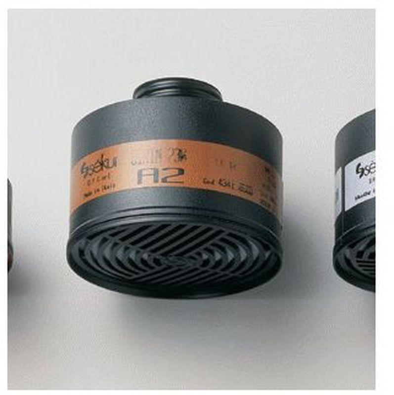 FELDTMANN-PSA-Atem-Schutz, Filter-Maske, Gasfilter A2