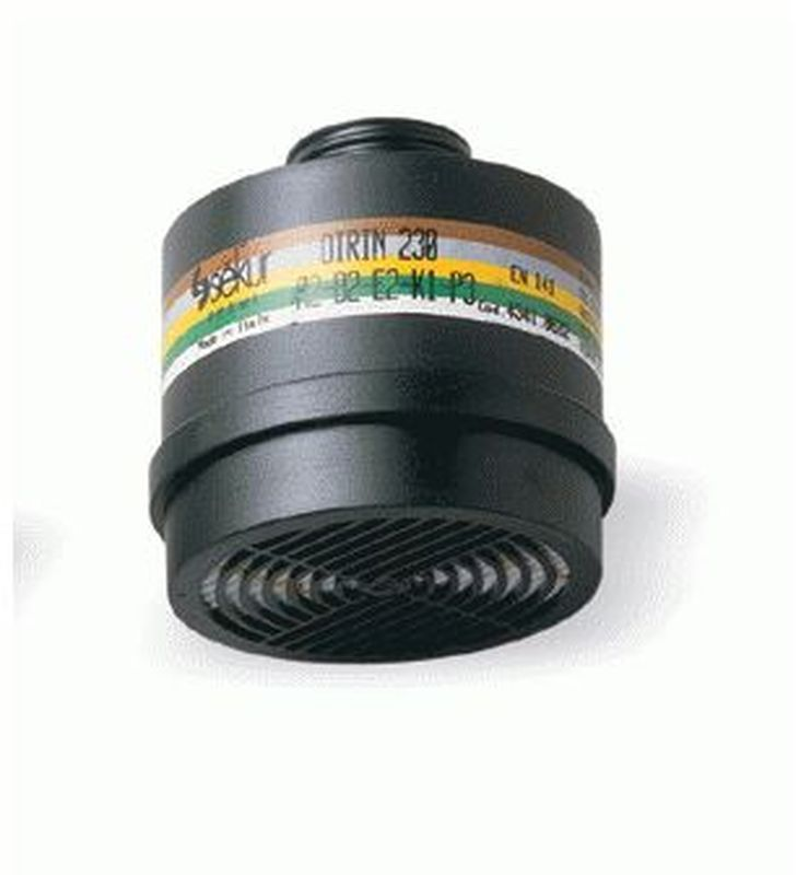FELDTMANN-PSA-Atem-Schutz, Filter-Maske, Mehrbereichsfilter-Kombifilter, ABEK-P3