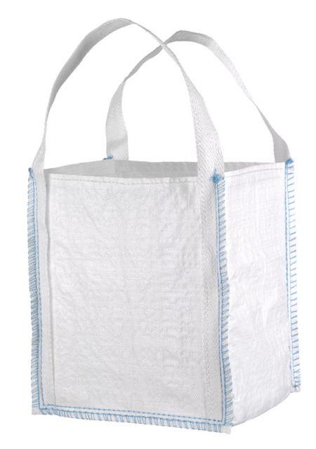 F-FELDTMANN-Bags-Transport-Entsorgung-Container-Säcke, Mini BIG-BAG, unbeschichtet, TRAGKRAFT: 300 KG, weiß