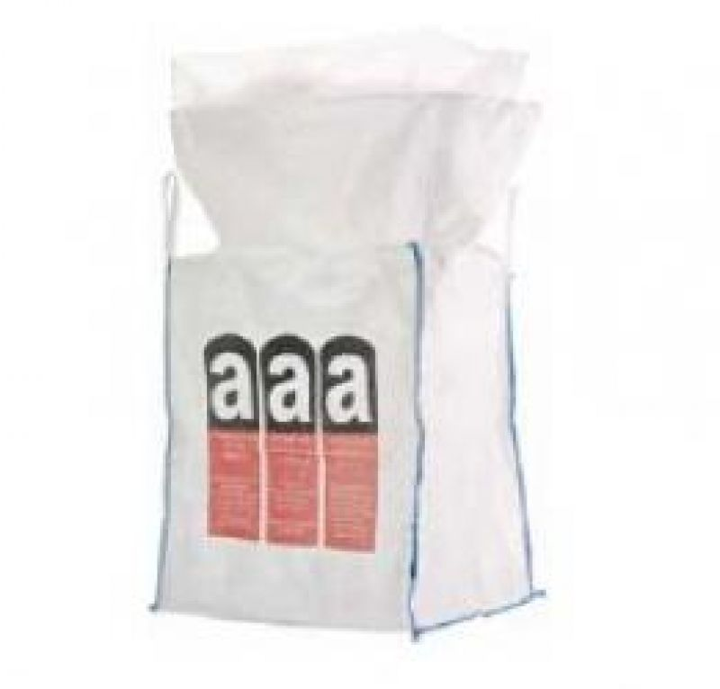 f big bag f r asbest mit inliner beschichtet 90 x 90 x 110 cm tragkraft 1500 kg. Black Bedroom Furniture Sets. Home Design Ideas
