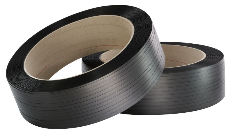 F-Feldtmann-PP-Umreifungsband* schwarz, Großrolle