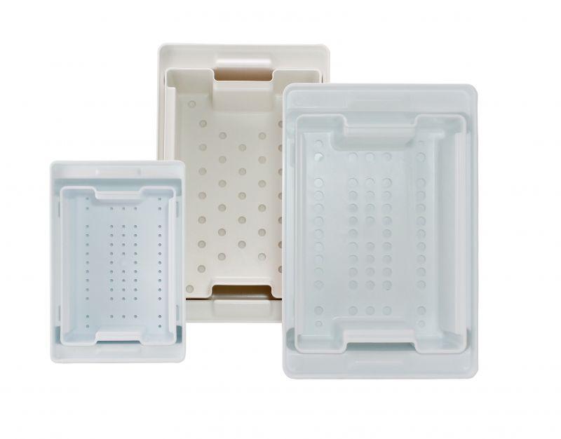 AMPRI-Hygiene, Desinfektions-Wanne, 5 Liter, Set mit Wanne, Sieb und Deckel, VE = 1 Stück