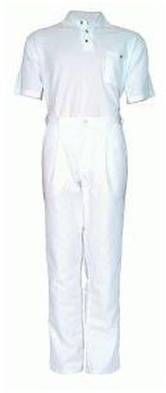 PIONIER-Workwear-Herren-Arbeits-Berufs-Hose, Bundhose, MG300, weiß