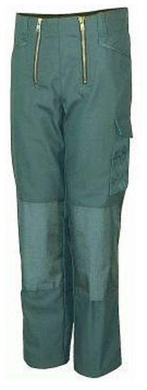 PIONIER Zunft-Arbeits-Berufs-Bund-Hose, Herforder Zunft, Canvas-Cordura, 530 g, grau