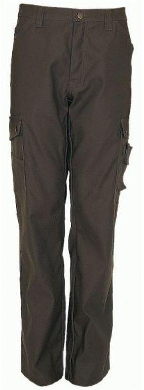 PIONIER-Workwear-Cargo-Stretch-Arbeits-Berufs-Bund-Hose, CANVAS, ca. 300g/m², dunkelgrau