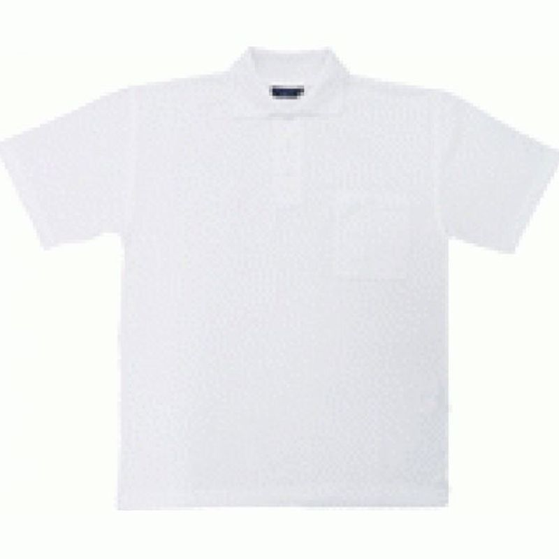 PIONIER-Polo-Shirt, 1/2 Arm, ca. 185g/m², weiß