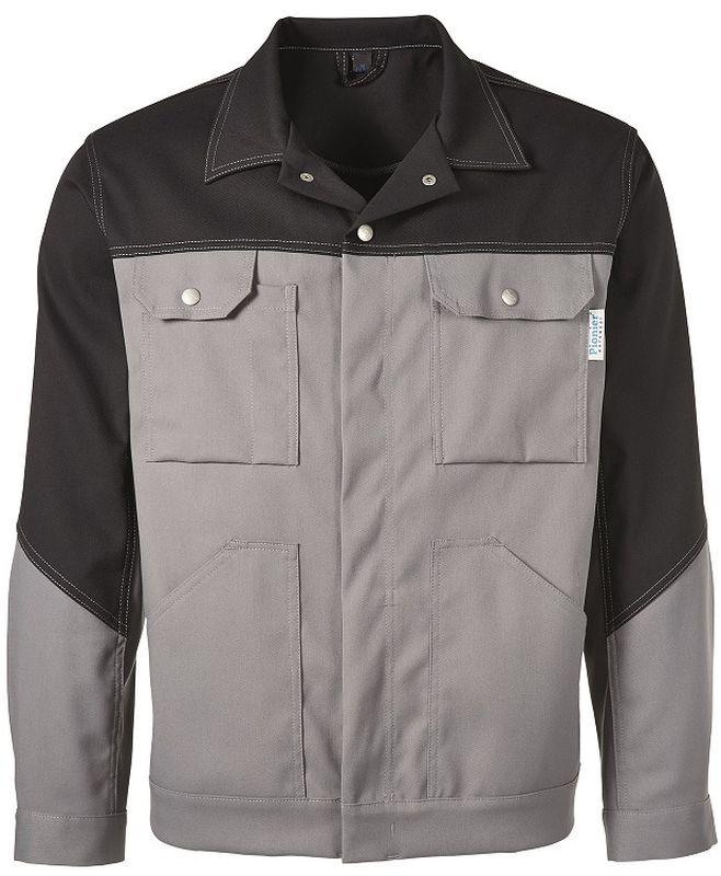 PIONIER Arbeits-Berufs-Bund-Jacke, MG285, grau/schwarz