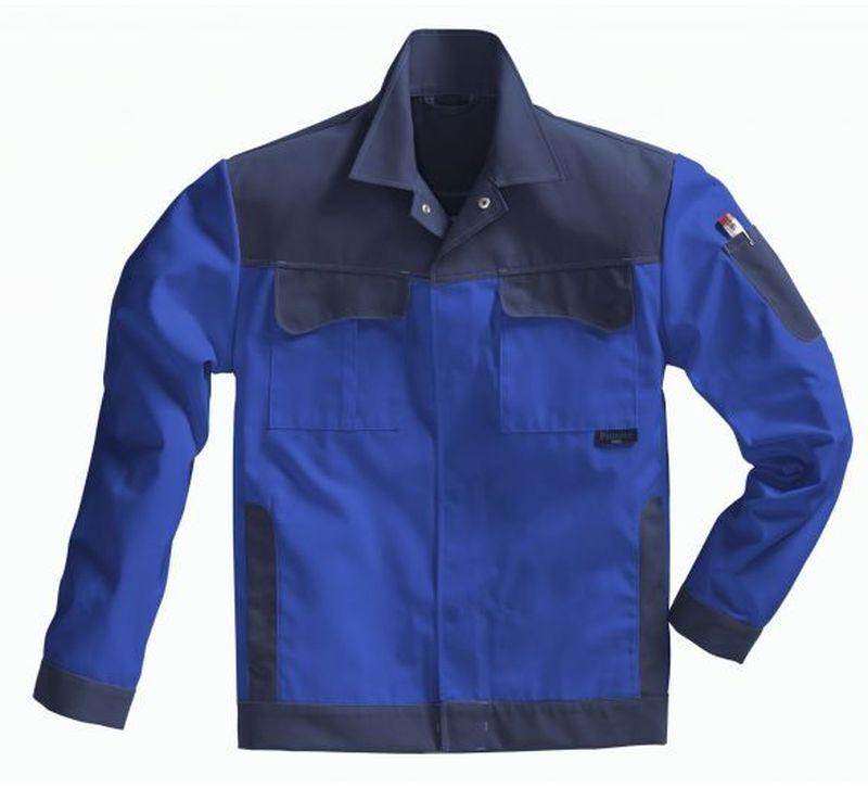 PIONIER Arbeits-Berufs-Bund-Jacke, Color Wave, MG 300, kornblau/marine