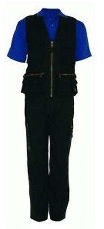 PIONIER-Workwear-Arbeits-Berufs-Bund-Hose, BW 300, schwarz